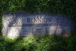 Lida Baker <i>Ure</i> Bennion