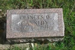 Frances Opal <i>Ryse</i> Cassidy