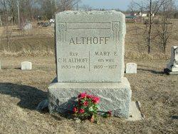 Rev Charles Henry Rev. C. H. Althoff