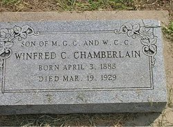 Winfred Clark Chamberlain, I