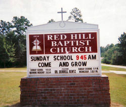 Red Hill Baptist Church Cemetery