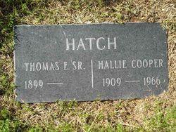 Hallie Almeda <i>Cooper</i> Hatch