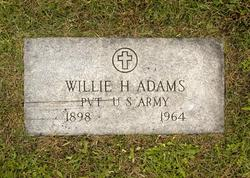 Pvt Willie Heary Adams