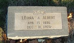 Leona Ann Onie <i>Scott</i> Albert