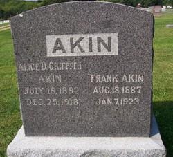 Alice D. <i>Griffith</i> Akin
