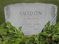 Gertrude May <i>Adams</i> Amidon