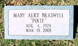 Mary Alice Braswell