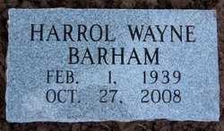 Harrol Wayne Barham