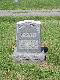 Rosa Elizabeth Bessie <i>Wilson</i> Garner