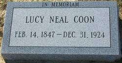 Lucy Ann <i>Neal</i> Coon