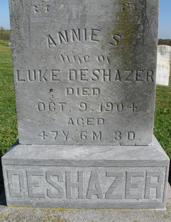 Annie Sophia <i>Smith</i> DeShazer