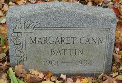 Margaret Ann <i>Cann</i> Battin