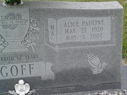 Alice Pauline Goff