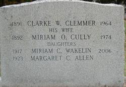 Miriam O. <i>Cully</i> Clemmer