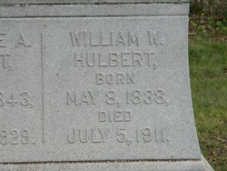 William Wilcox Will Hulbert