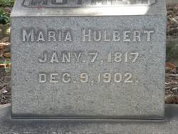Maria <i>Wilcox</i> Hulbert
