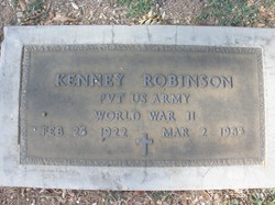 Pvt Kenney Robinson