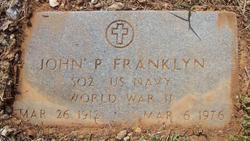 John P Franklin