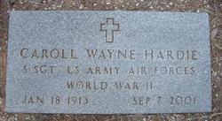 Caroll Wayne Hardie