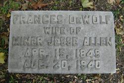 Frances <i>DeWolf</i> Allen