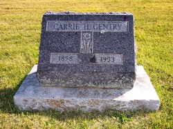 Carrie Hazel <i>VanVacter</i> Gentry