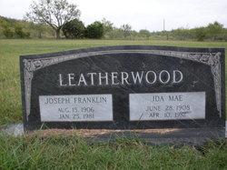 Ida Mae <i>Jones</i> Leatherwood