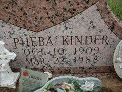 Pheba Delores <i>Kinder</i> Rhodes