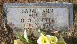 Sarah Ann Hooper