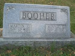 Minnie Dell <i>Hicks</i> Booher