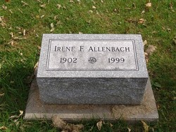 Irene <i>Frank</i> Allenbach