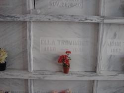 Ella Caroline <i>Allebaugh</i> Trovinger