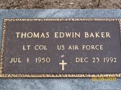 LTC Thomas Edwin Tommy Baker
