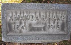 Amanda R <i>Rank</i> Hake