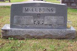 Julia <i>Wilson</i> McCubbins