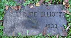Gertrude <i>Bugbee</i> Elliott