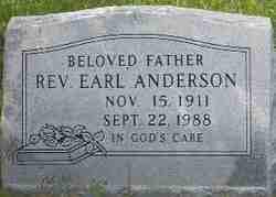 Rev Earl Anderson