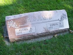 Edwin B Adams