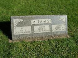 Marion H Adams