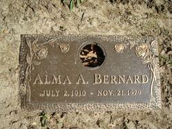Alma A <i>Landvatter</i> Bernard