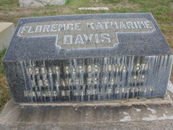 Florence Katharine Davis