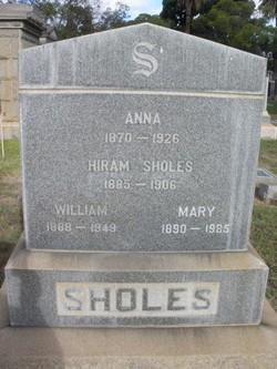 Anna <i>Tucker</i> Sholes