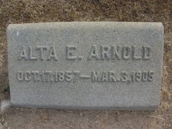 Alta E Arnold