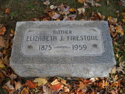 Elizabeth Jane <i>Lyons</i> Firestone
