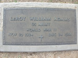 LeRoy William Adams