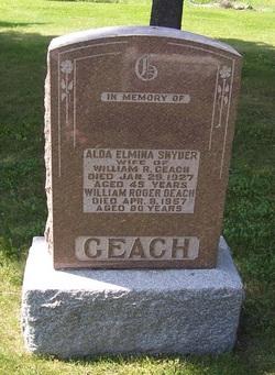 Alda Elmina <i>Snyder</i> Geach