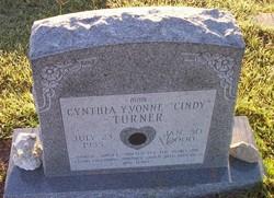 Cynthia Yvonne Cindy Turner
