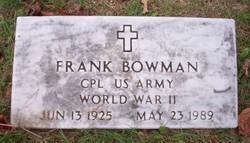Frank Bowman