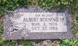 Albert Boening, Sr
