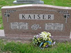Mary Virginia <i>Hearn</i> Kaiser