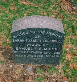 Sarah Elizabeth <i>Griswold</i> Morse